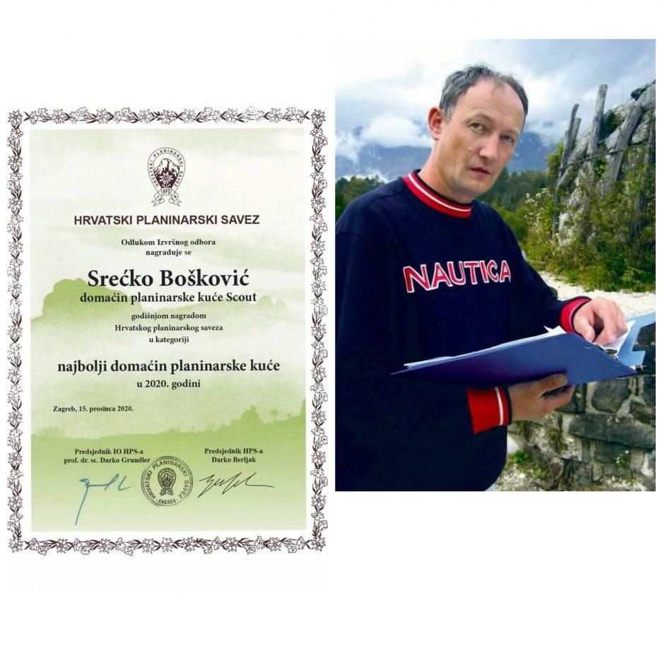 Nagrada HPS-a za najboljeg domaćina planinarske kuće