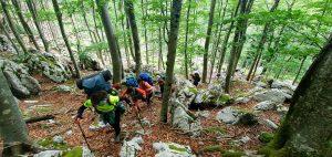 Planinarski izlet na Južni Velebit 24.-25.4.2021.